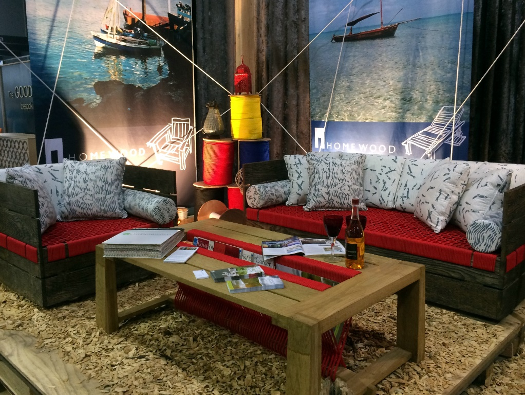 Image courtesy of HOMEWOOD | Intambo Suite at Decorex Durban 2015