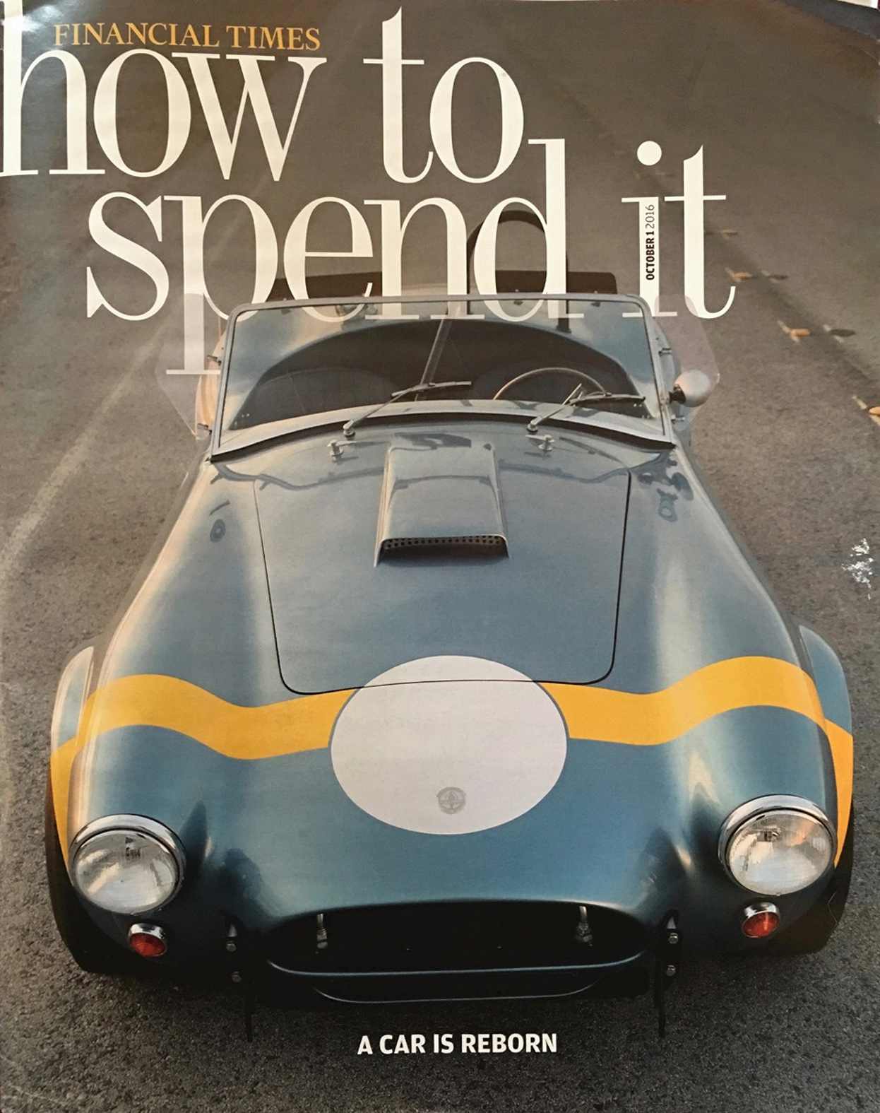 {FT UK} How To Spend It | October 2016