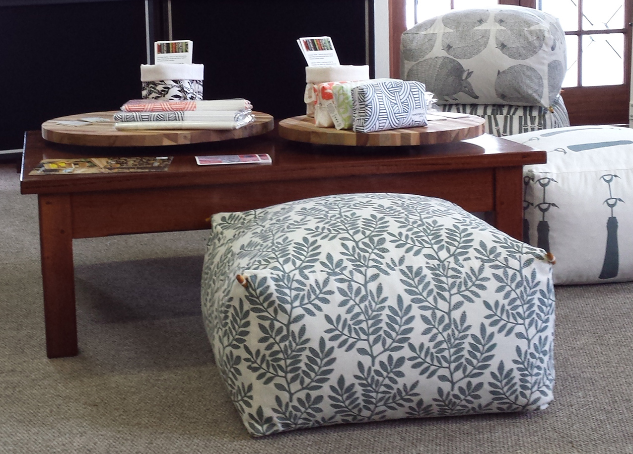 Floor Cushions - You can never have enough comfy seating. Available in a selection of sizes and filling