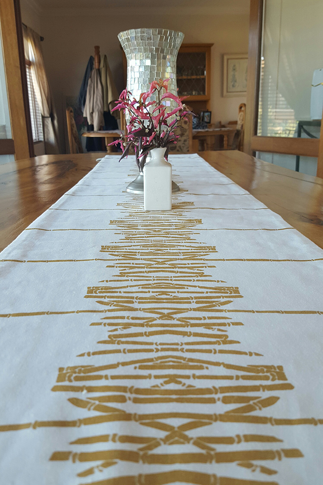 Table Runners - Sometimes all you need is a little something on the table without covering  the beautiful surface. The options are endless when it comes to options for our Table Runners!