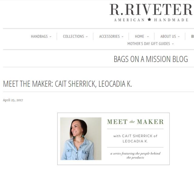 LK/Cait Sherrick on R. Riveter