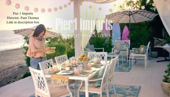Asst. Makeup-  Pier 1 Imports - Director Pam Thomas
