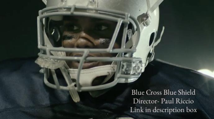 Blue Cross Blue Shield- Football
