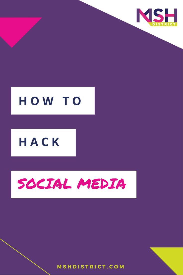 How To Hack Social Media. MSH District - Fashion Startup Fund. Social media isn't one size fits all - today we uncover how to tackle a social strategy for a fashion startup - Are you screwing it up?? Join us today on this episode we talk about exactly what you need to do and how to get it done!http://www.mshdistrict.com/blog/hack-social-media