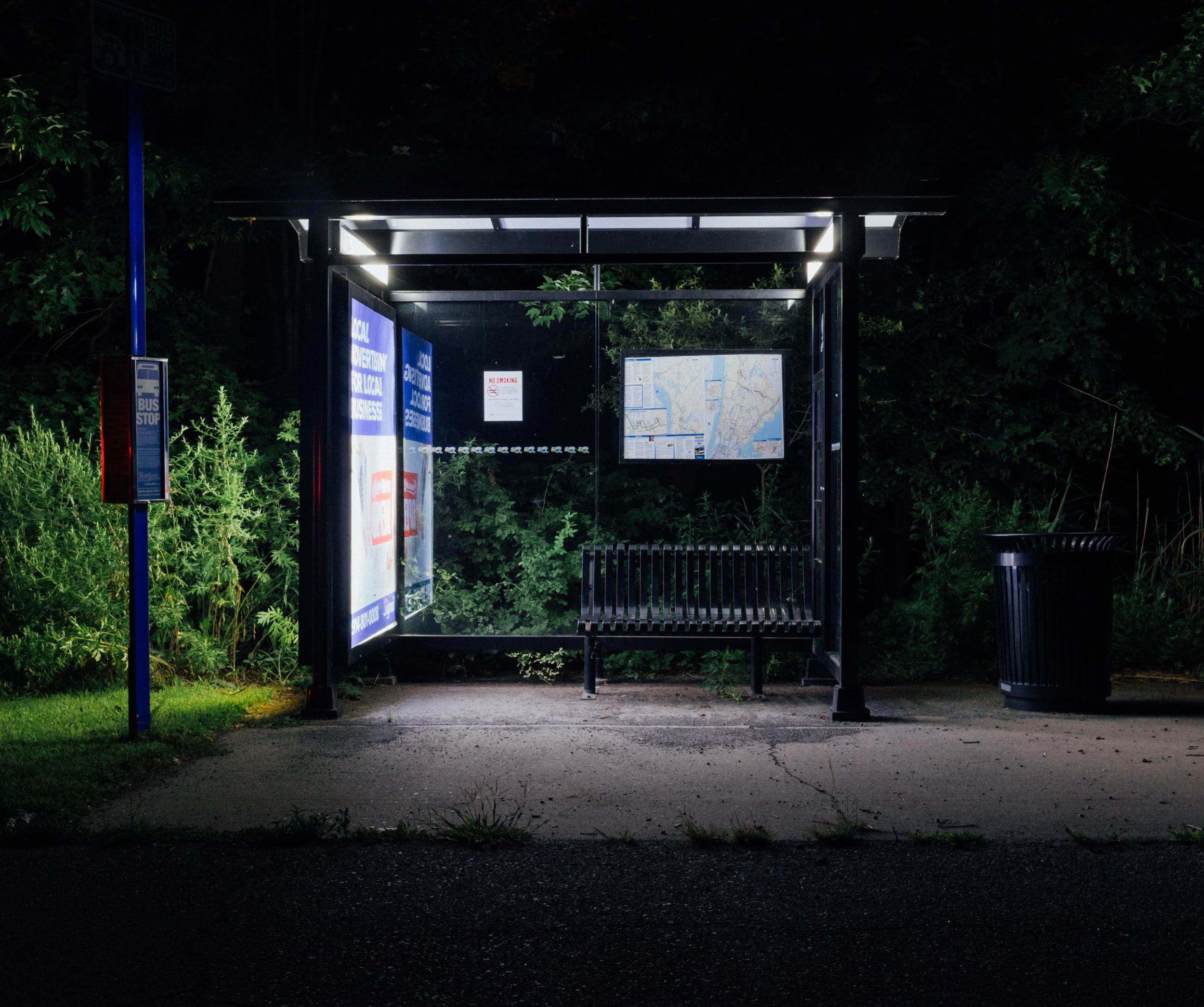2 AM Bus Stop, 2017