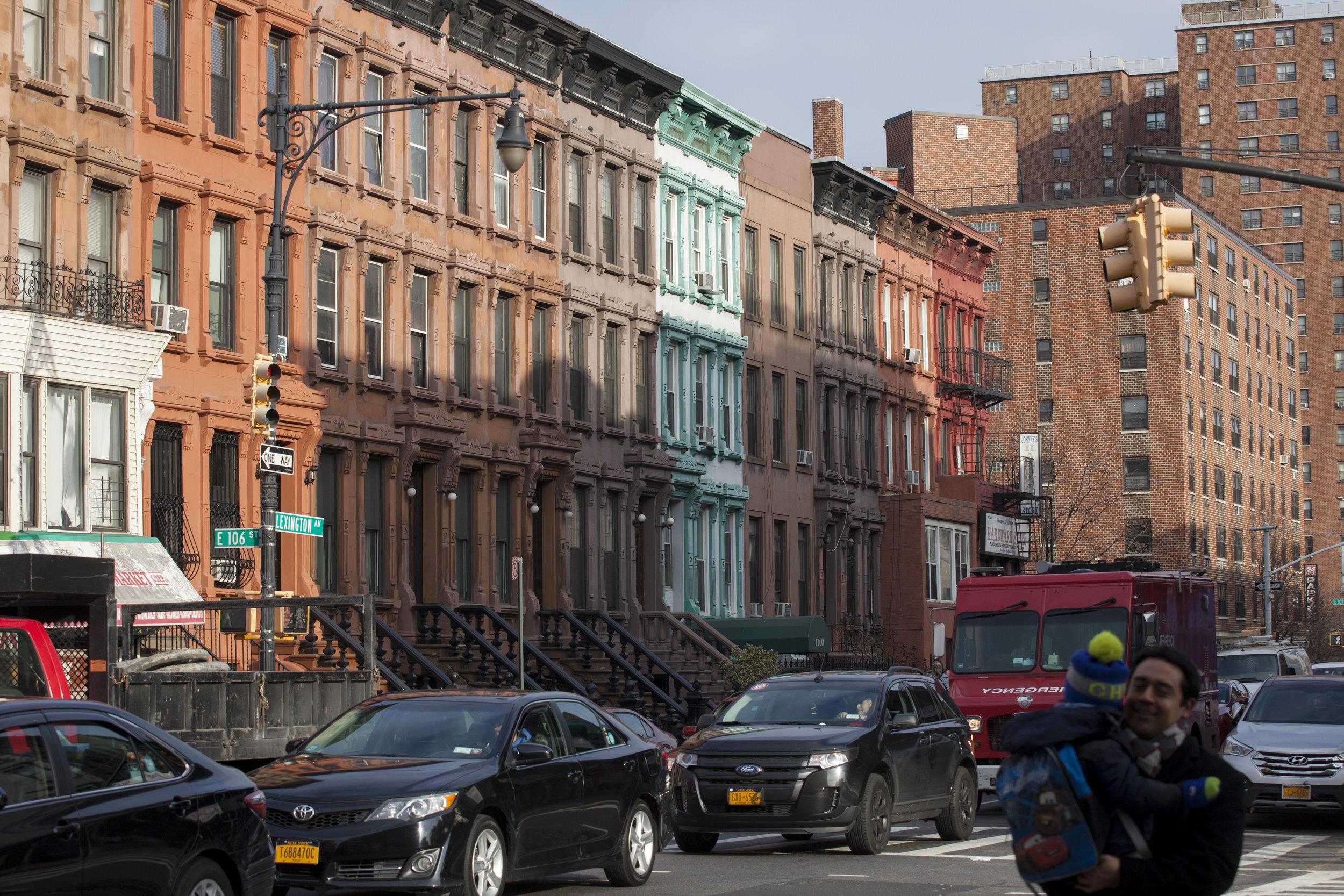 East Harlem Streetscape