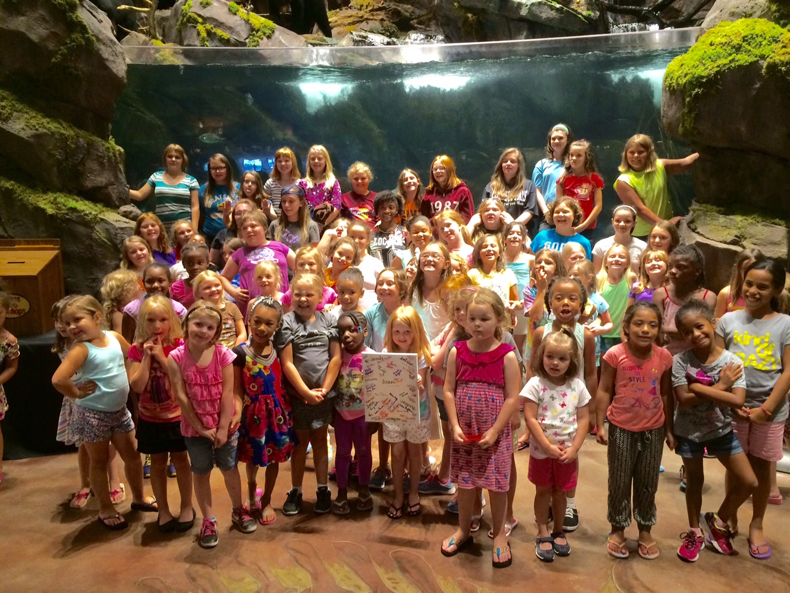 Thank You to Quest Laboratory for sponsoring our Fish Bowl Trip!