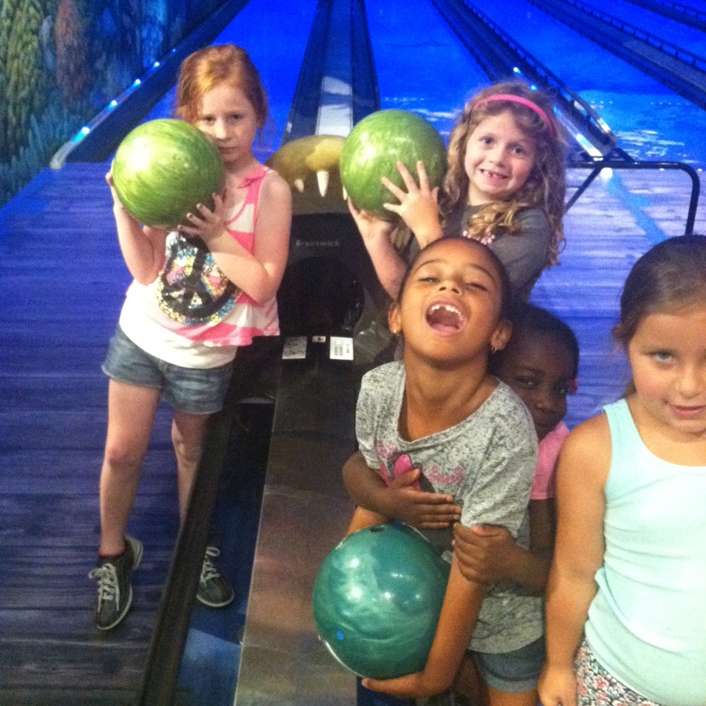 We love to bowl!