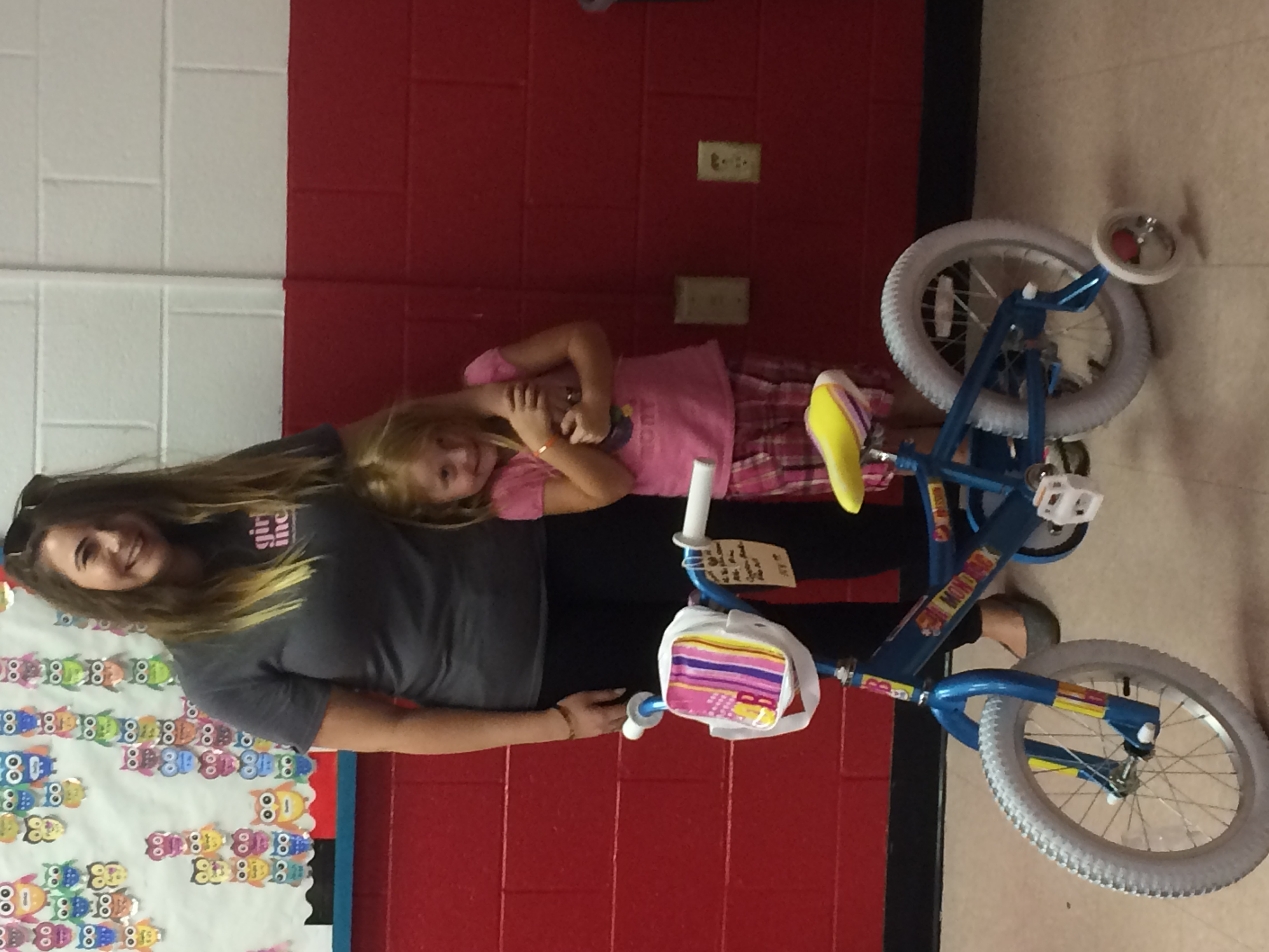 Aubrey is our Outreach Kid of the Month!!! We are so proud of this sweet young lady!