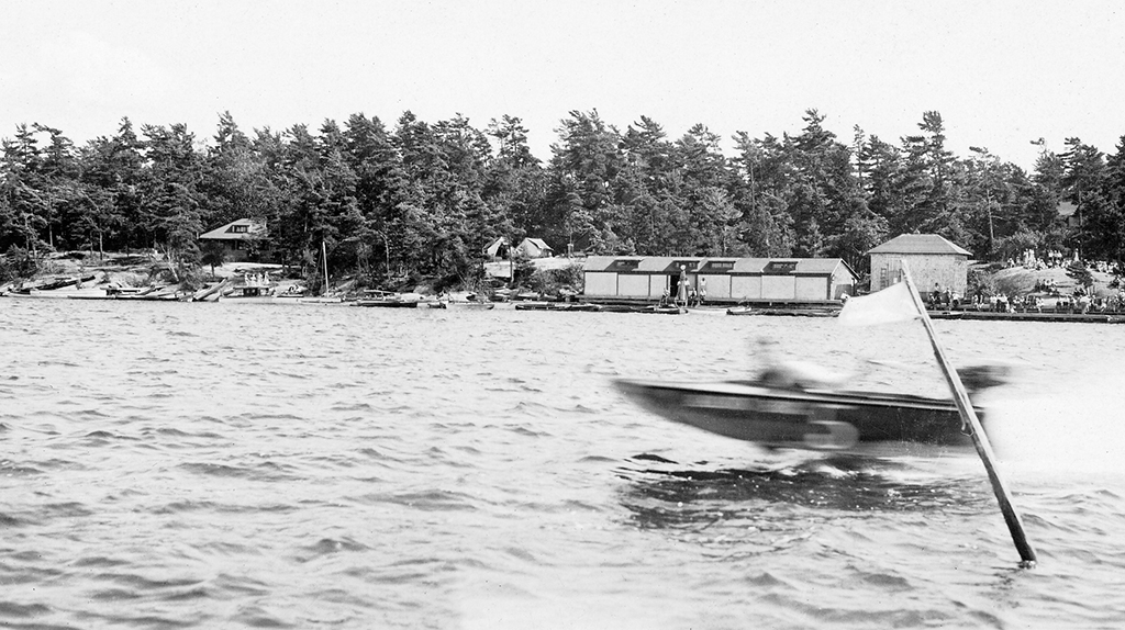 In the 1920s, the open speed-boat race was among the regatta's most exciting, and expensive, events: the entry fee was $1 per boat.