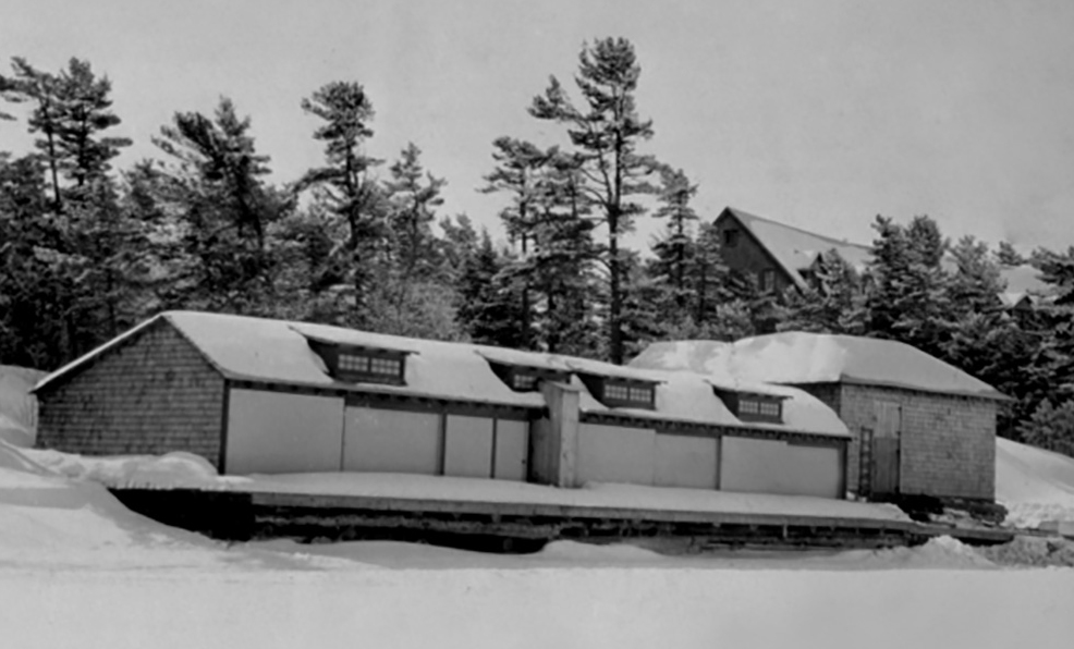While calm, sunny days were surprisingly comfortable –even when the temperature dropped well below zero – the Ojibway's ice crews learned to work through blizzards, freezing rain and high winds.