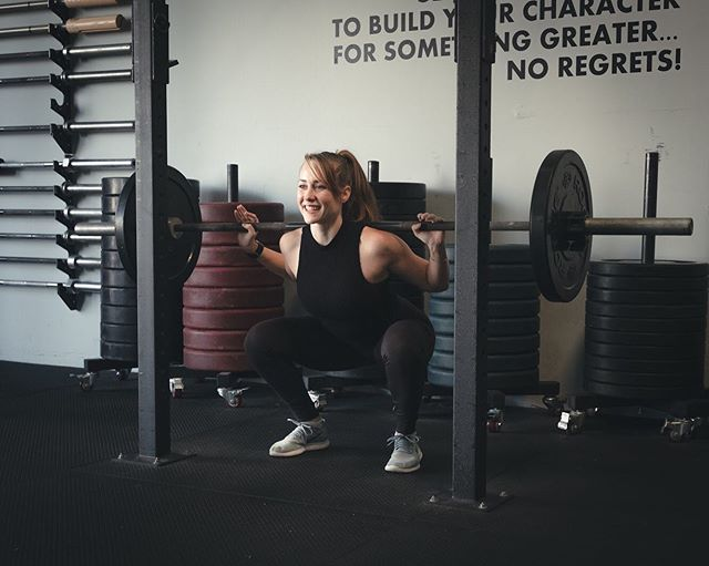 I don't usually smile while doing squats but the Women's Program II is coming July 1st and I'm excited for you to try it!  Are you looking to boost your workouts this summer? I'm looking for ladies who want to get stronger, leaner and more flexible in 6 weeks with the Women's Program II. This is a 6 week gym based program including strength training, cardio and yoga. It is an advanced level program so it's best if you have at least 1 year of gym experience.  What's included? * 5 assigned workouts per week- 3 gym days, 1 30 min cardio and yoga, 1 yoga * Personalized macros * Measurement tracker * Nutrition tracker * Workout tracker * Video demos of each exercise * Access to Facebook support group * All for $150  Send me a message to join! Tag anyone you know who may be interested! .📷 @viva_photos . . . . . #fitness #strongwomen #strong #personaltrainer #strengthtraining #juststrong #sierratrainingandyoga #innerstrength #mystrength #strengthcoach #mentalstrength #womenworkout #onlineworkoutplans #fitnessplan #gymworkouts #strongmind #fitnessfam #fitnesspro #weightlifter #strongerthanyesterday