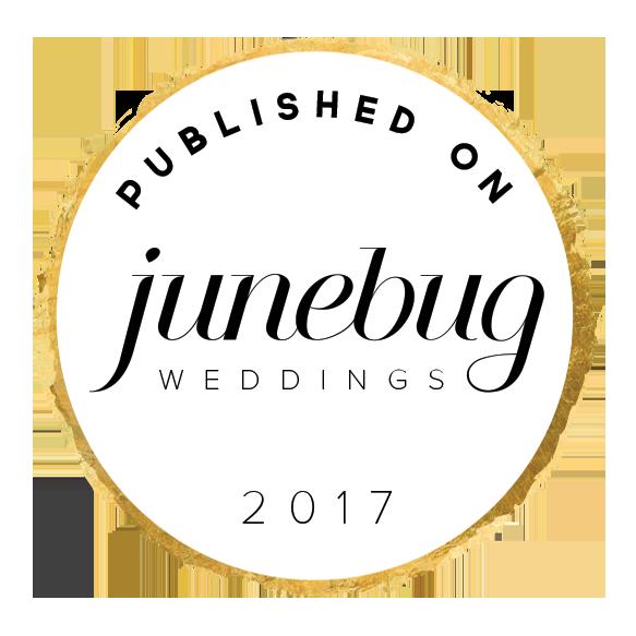 Rachel McCauley Photography featured on Junebug Weddings