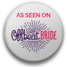 - Over the moon to have Inthia & Robert's epic wedding featured on Offbeat Bride!