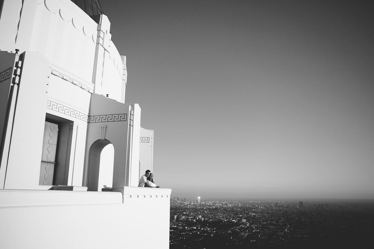 Tina & Sean :: Griffith Observatory