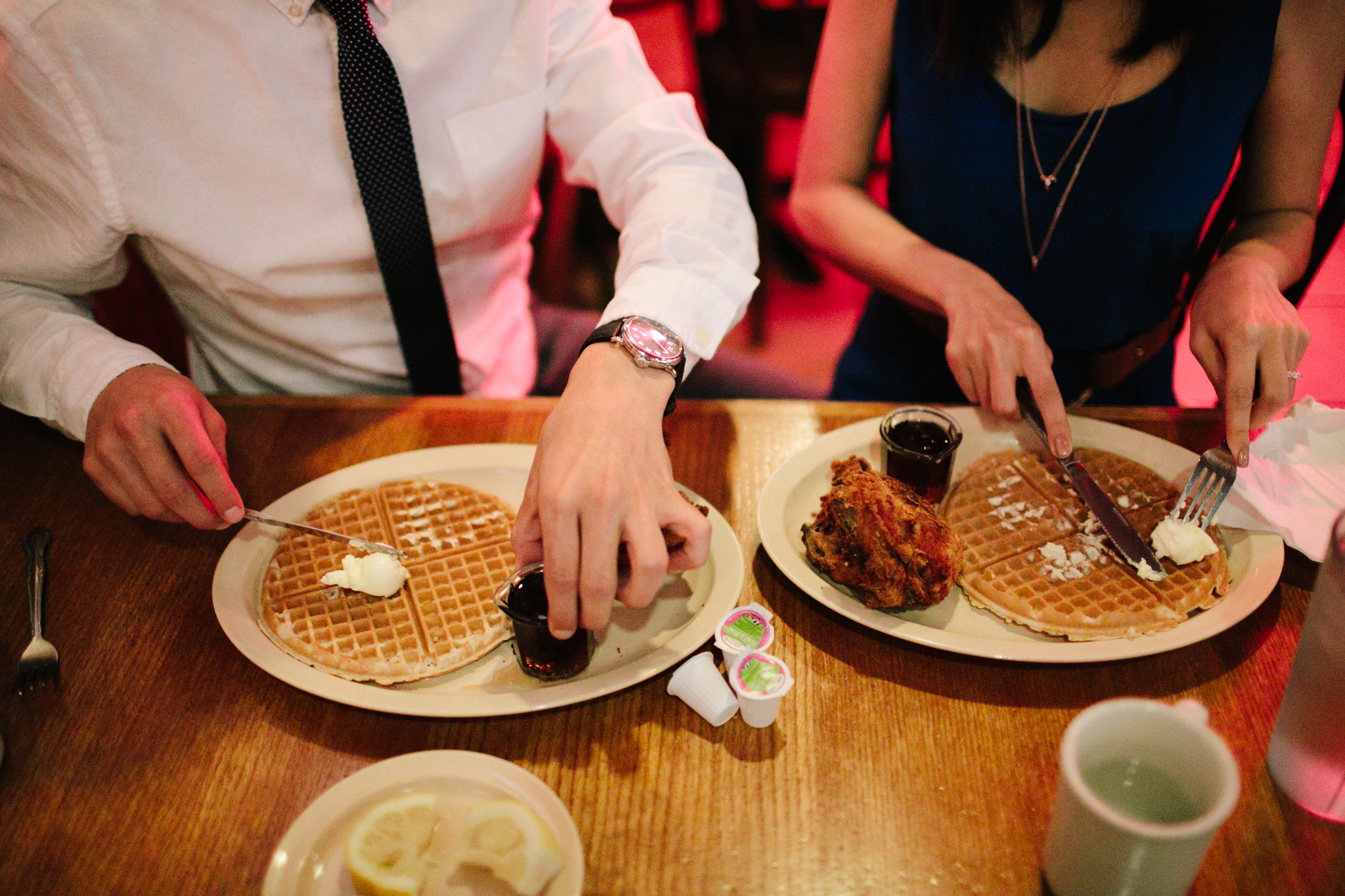 roscoes chicken and waffles engagement-114.jpg