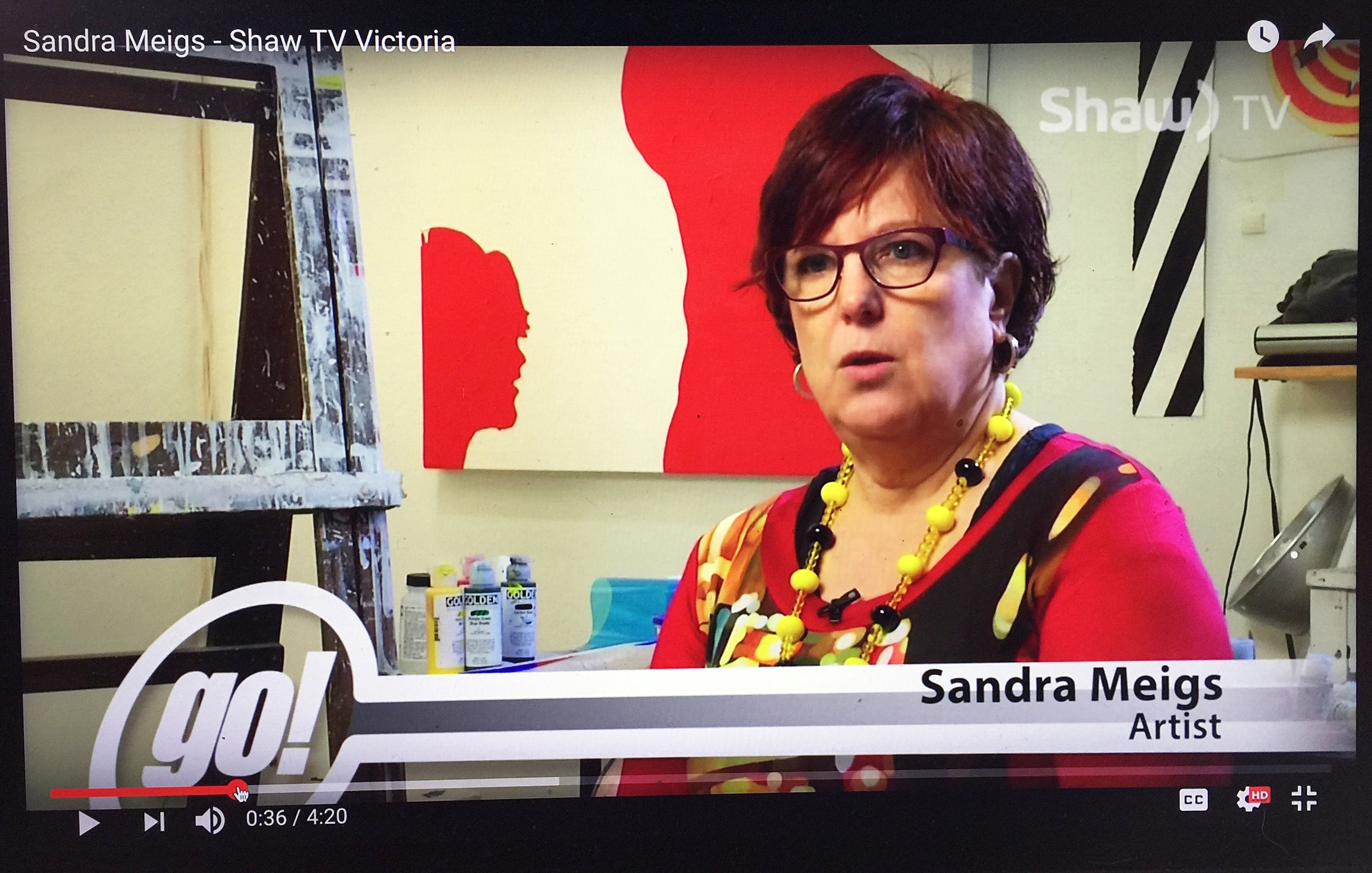 Shaw TV Victoria BC 4 minute Interview with Lorraine Scollan February 2016