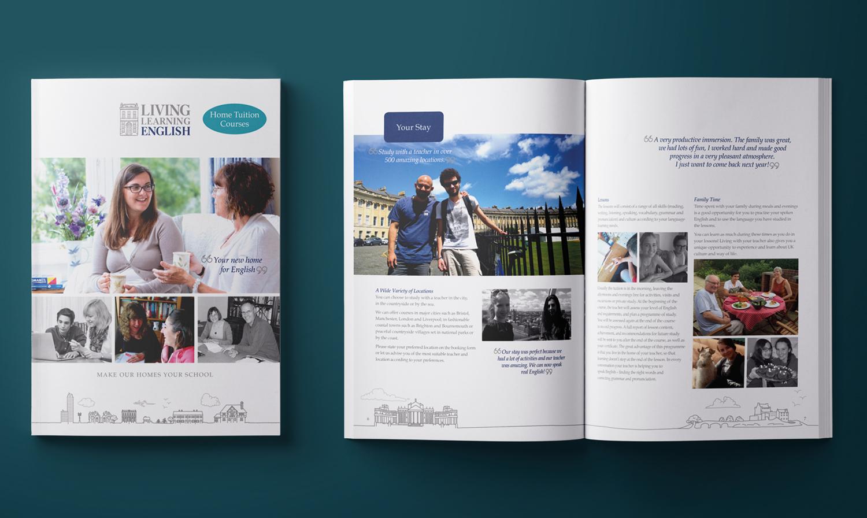 Prospectus cover and intro spread