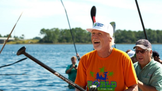 Bob Purdy passed away after a life spent fighting for the preservation of our planet. (Photo Credit:SoWal/ World Paddle for the Planet
