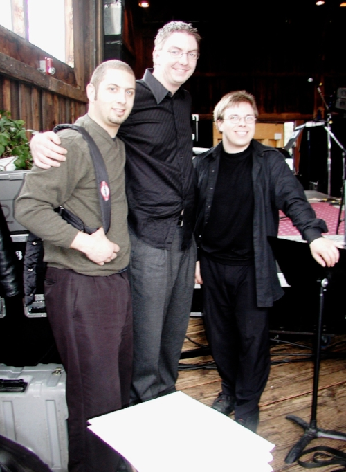 Pictured left to right: James Smith, Ian Hale, Daniel Pate