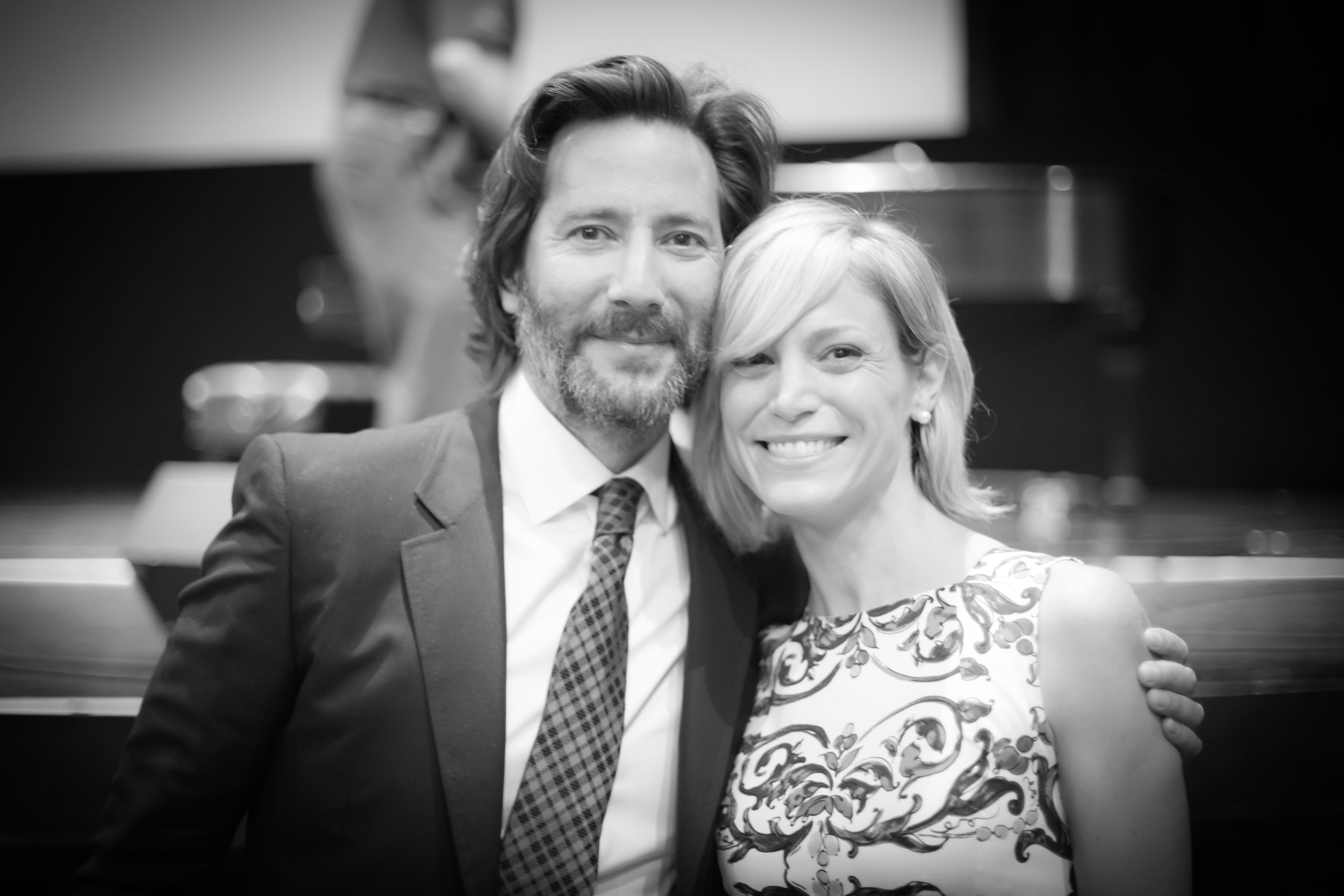 """Posing with  Henry Ian Cusick , also known as Desmond from """"Lost""""."""