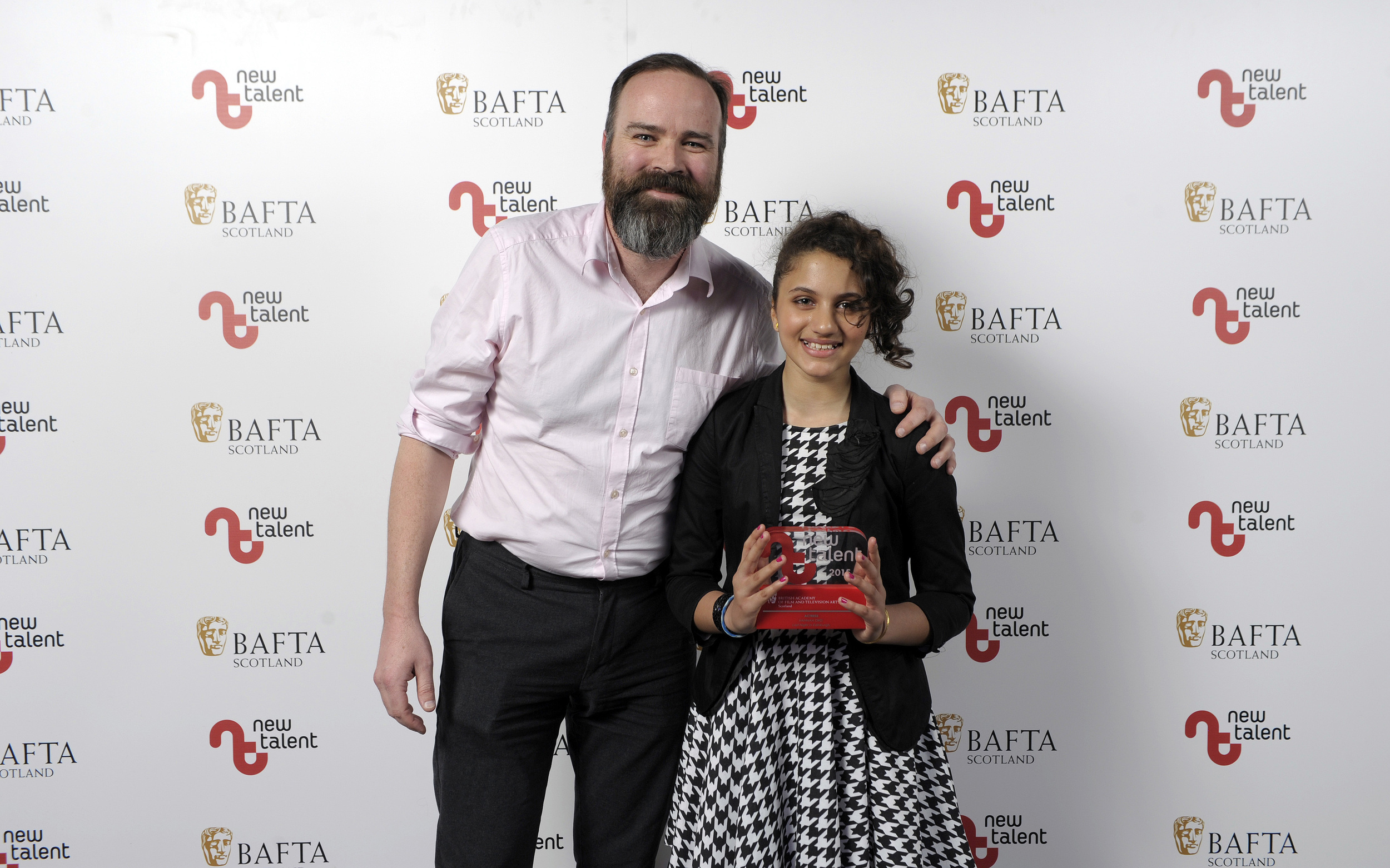 Hannah Ord Best Acress BAFTA New Talent Award 2015