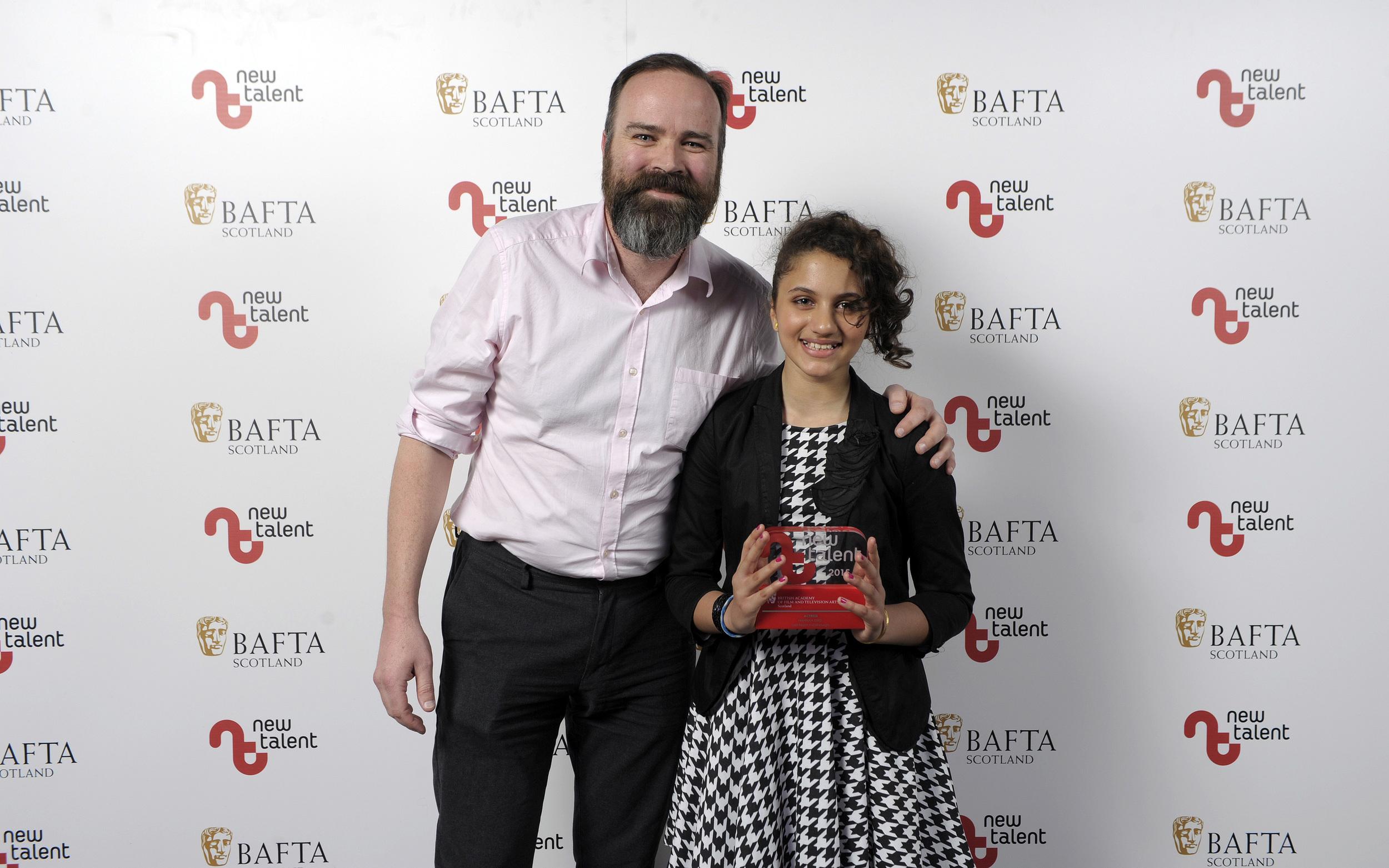 Hannah Ord Best Acress BAFTA New Talent Award 2015