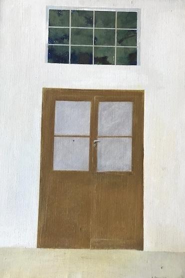 Mein Atelier in Rom1  67x45  1972  PREIS: 700