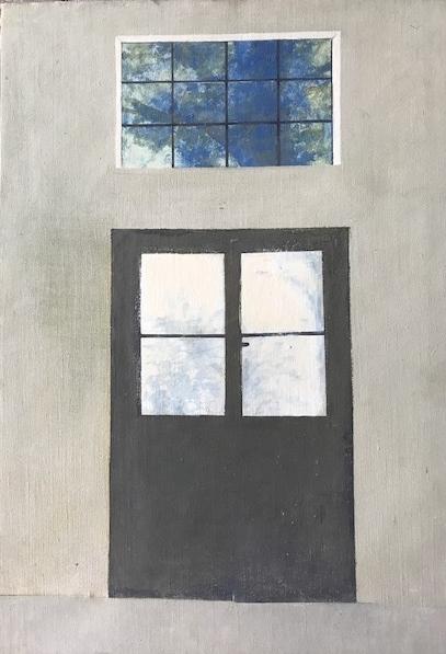 Mein Atelier in Rom  67x45  1972  PREIS: 700