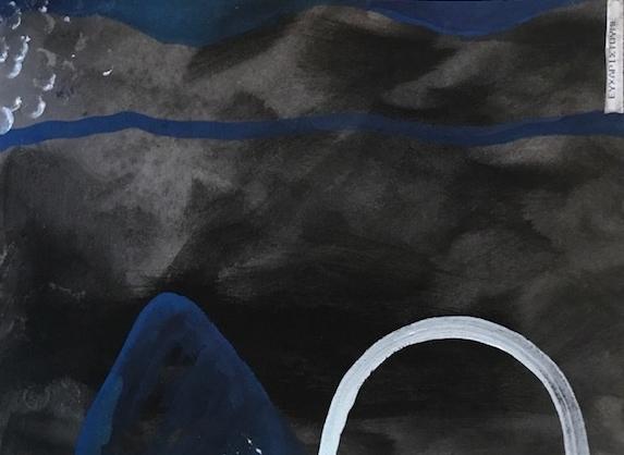Efcharisto  Wasserfarbe und Sepia auf Papier 21.6 x 28cm  2017  PREIS: 250 EURO