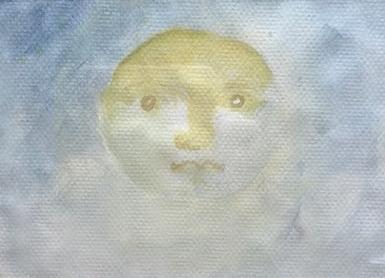 Mond  Aquarell auf Bütten  PREIS: 150 EURO