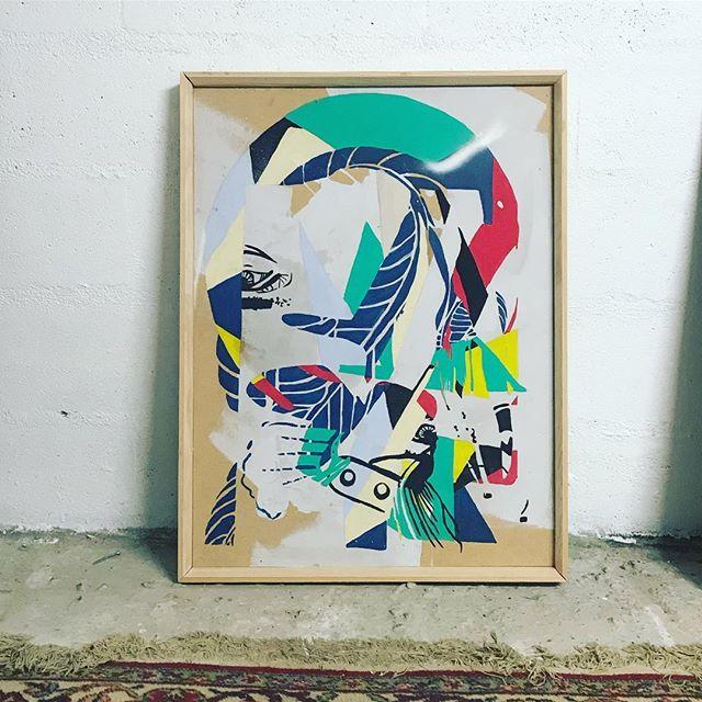 Framed.  #painting #art