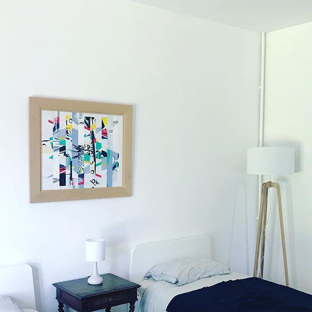 Art on wall   -life- serie   #art #painting