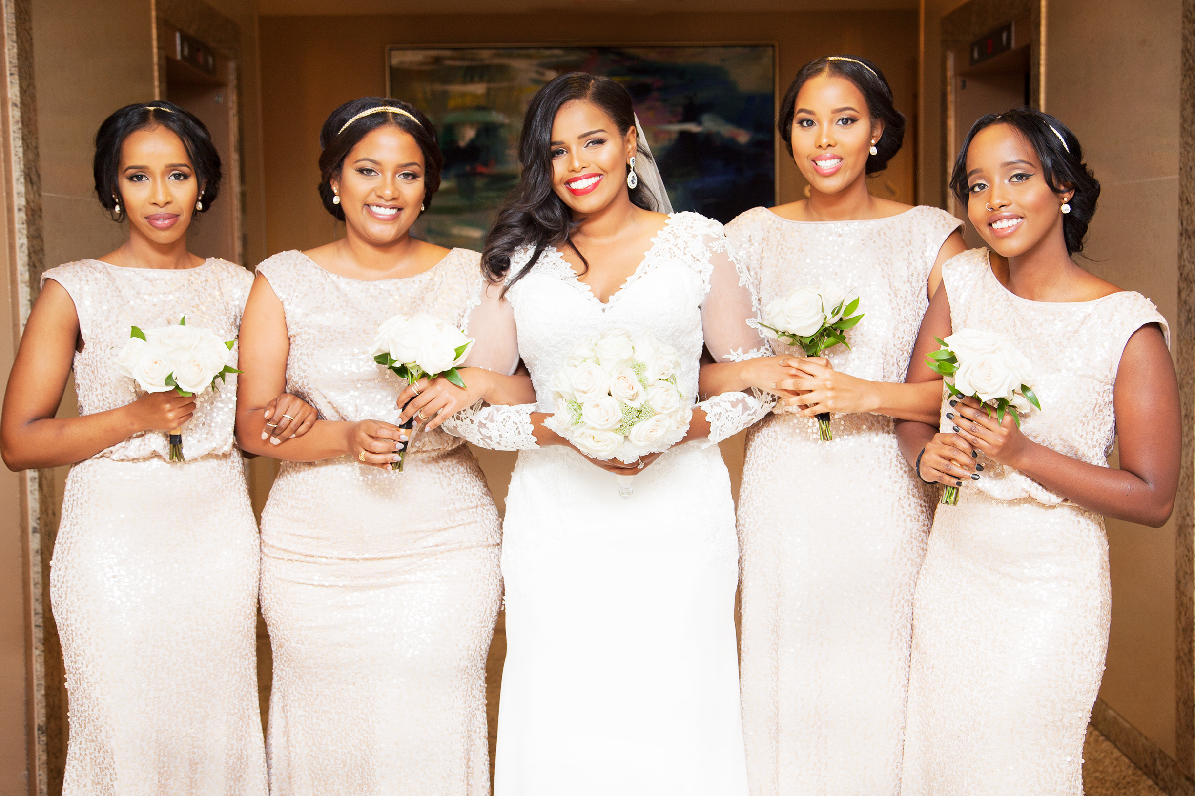 Bridesmaids Toronto Somali East African Wedding