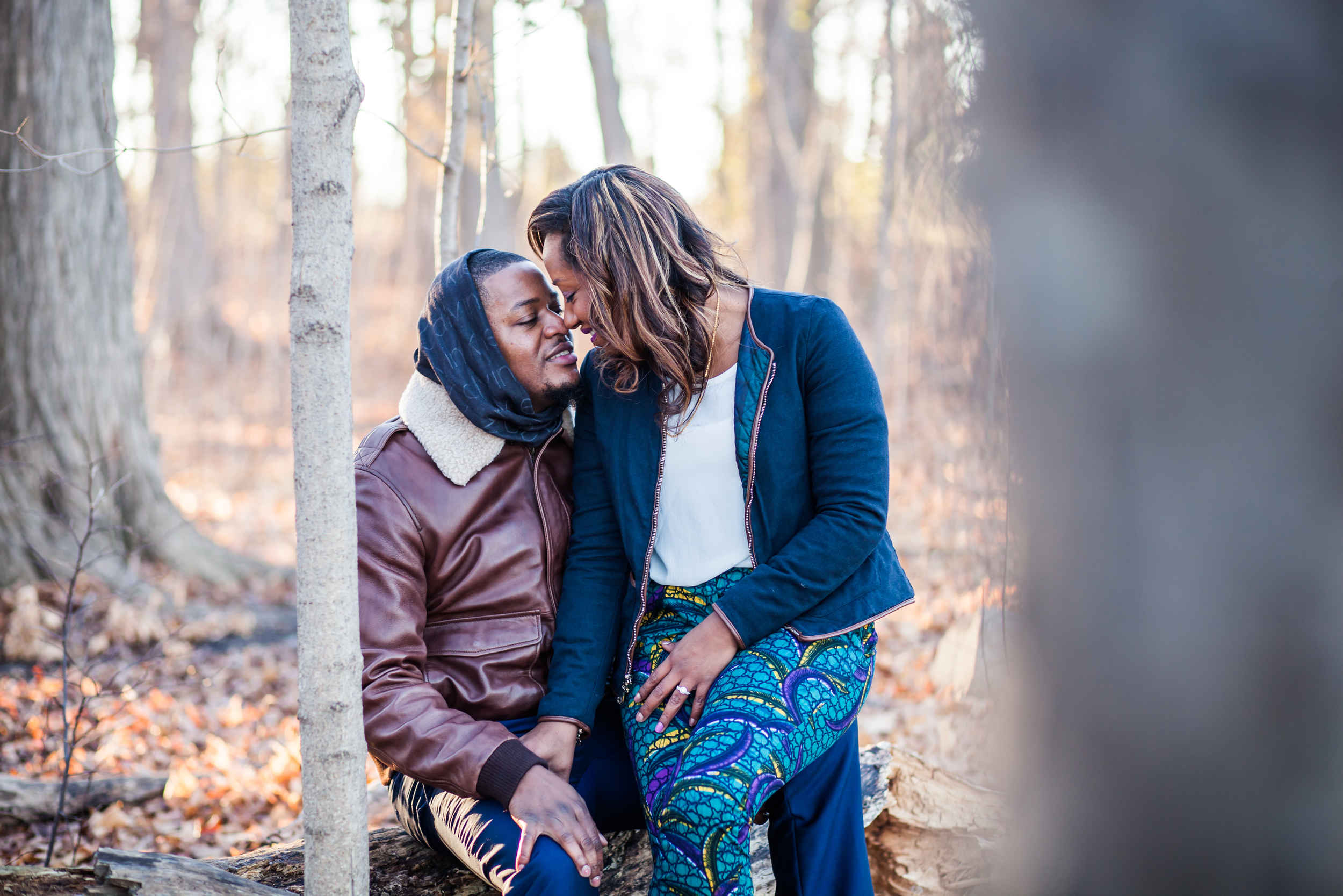 Fall Photoshoot In The Woods Karimah Gheddai