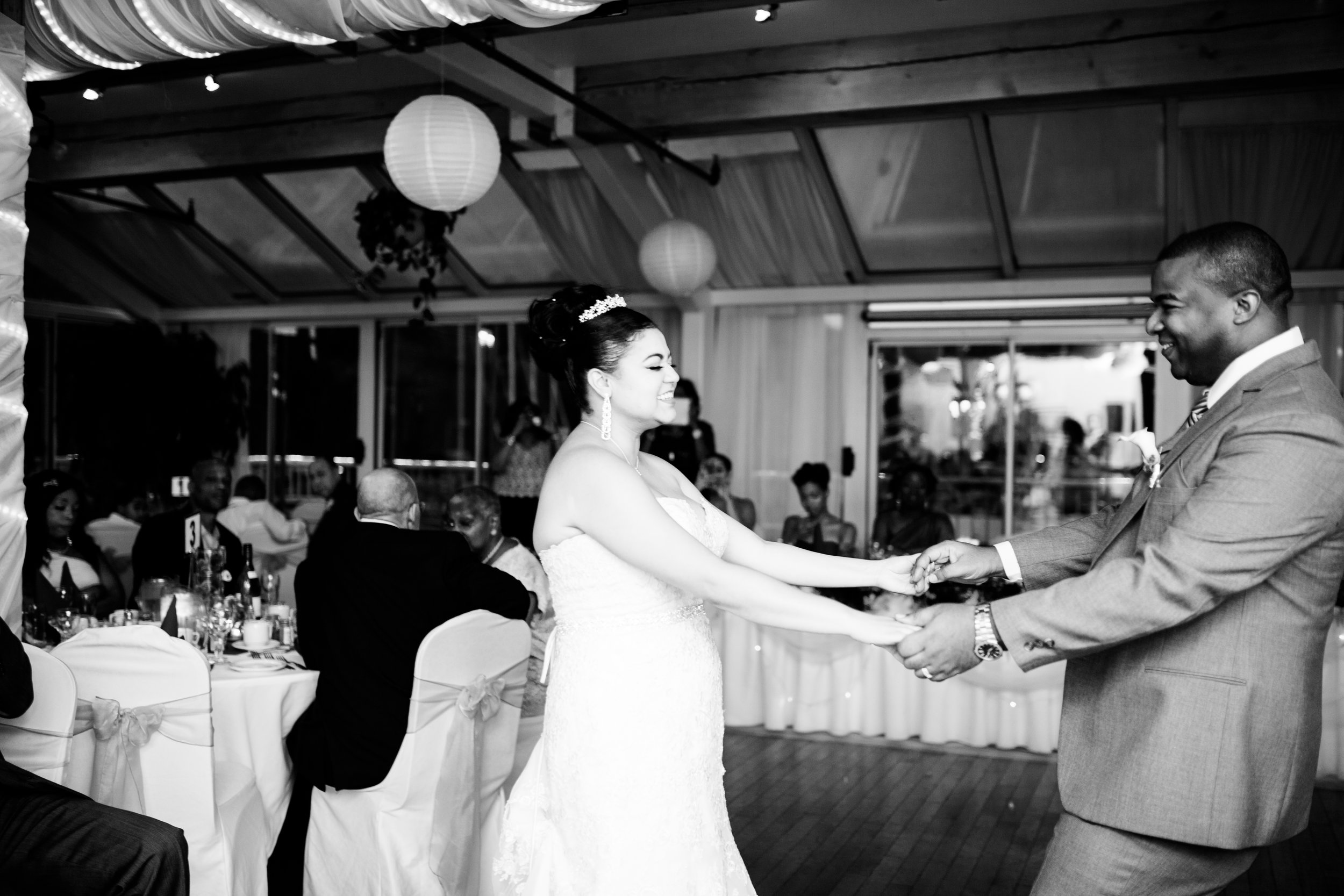 Dancing Wedding photos Toronto Karimah
