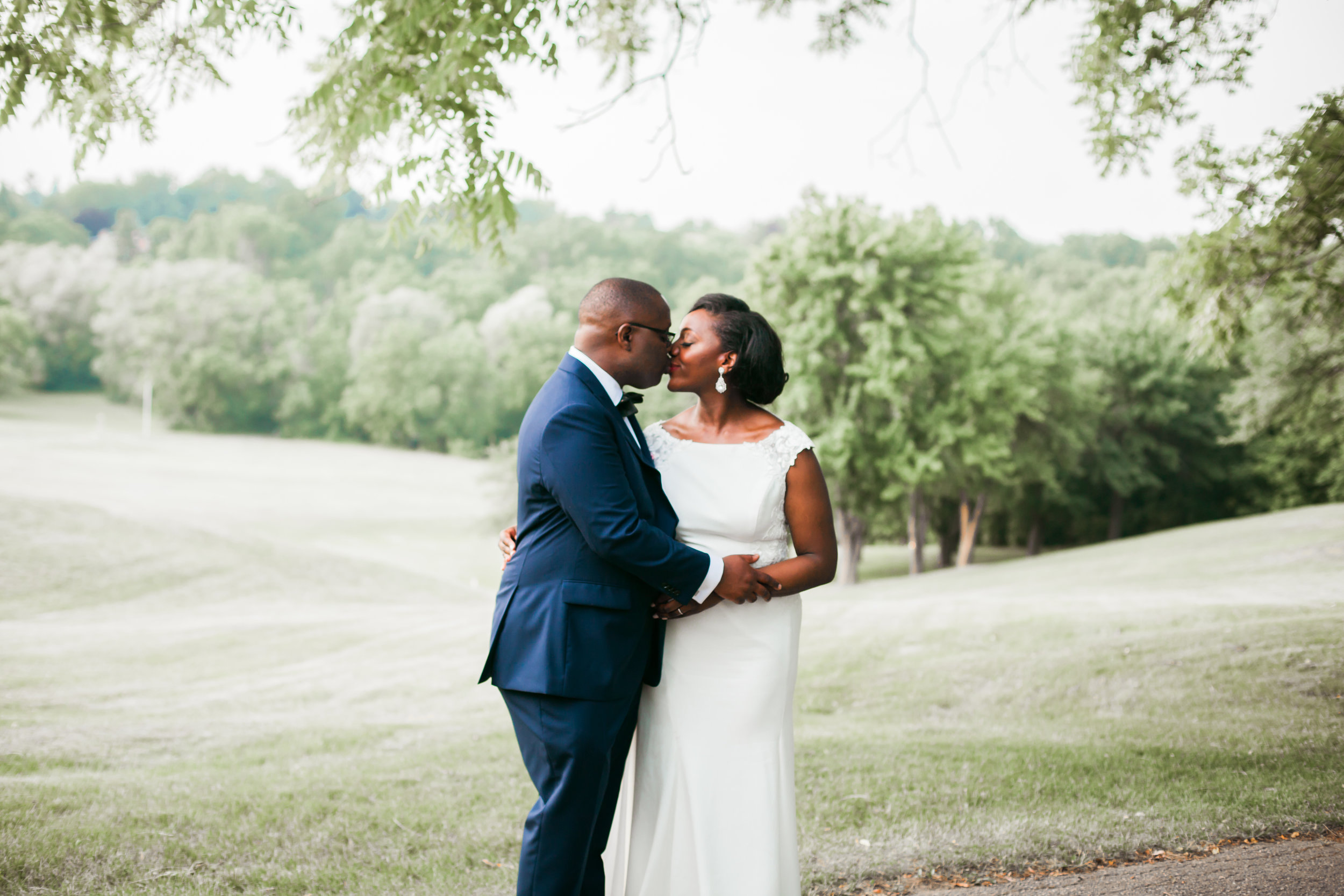 Wedding Photography Kenyan Canadian Photographer Karimah Gheddai Tyndale University College African Black couples Portraits Blue Suit International Multicultural Ontario Toronto Canada