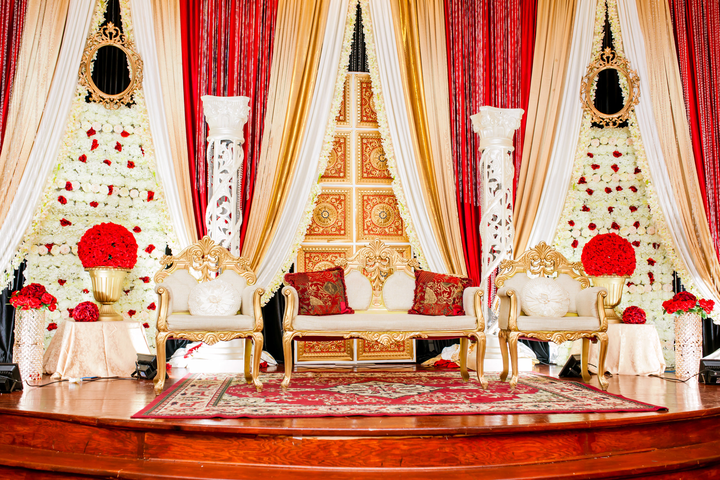 Brampton Wedding Photographer Toronto Indian Mississauga Pakistani Red Decor Decor company styled shoot inspiration Lavish Dulhan South Asian Brides Nikkah Chandni Grand