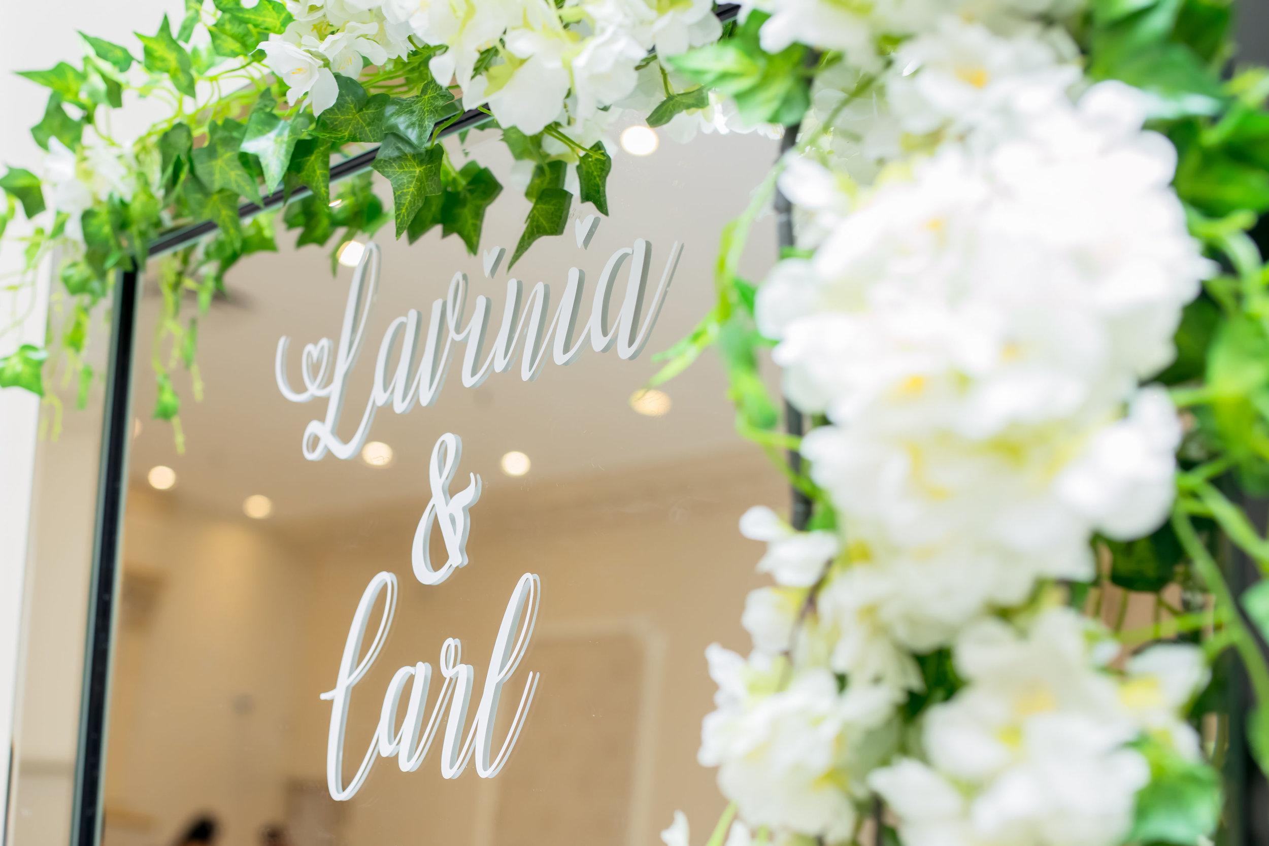 Karimah_Gheddai_Photography_Catholic_Wedding_Alexander_Muir_Gardens_Paradise_Banquet_Hall_Caligraphy