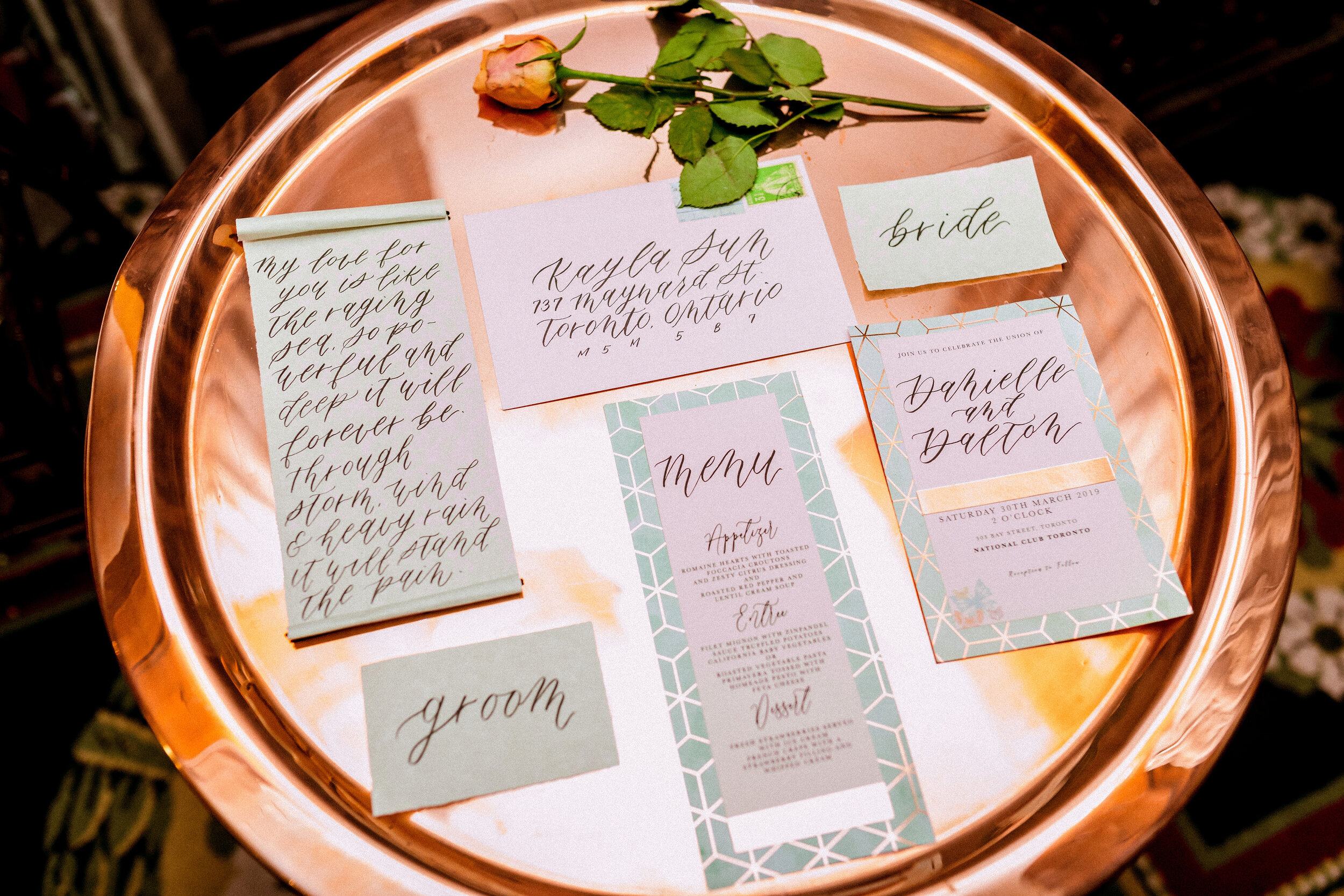 Karimah_Gheddai_Photography_Black_couple_wedding_calligraphy