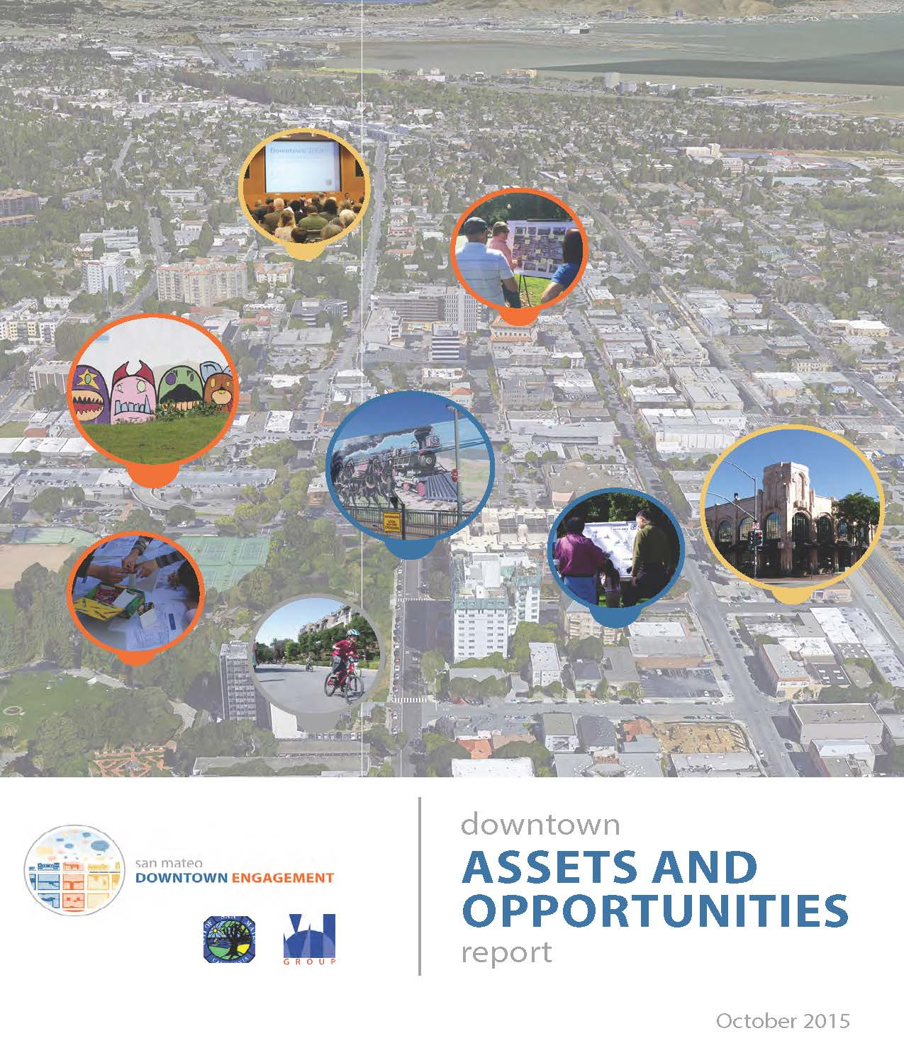 Click the above image to review the Downtown Assets and Opportunities Report. It summarizes the community discussions, comments, and feedback received throughout the Downtown Engagement Process and provides a foundation for the Downtown Area Plan Update.