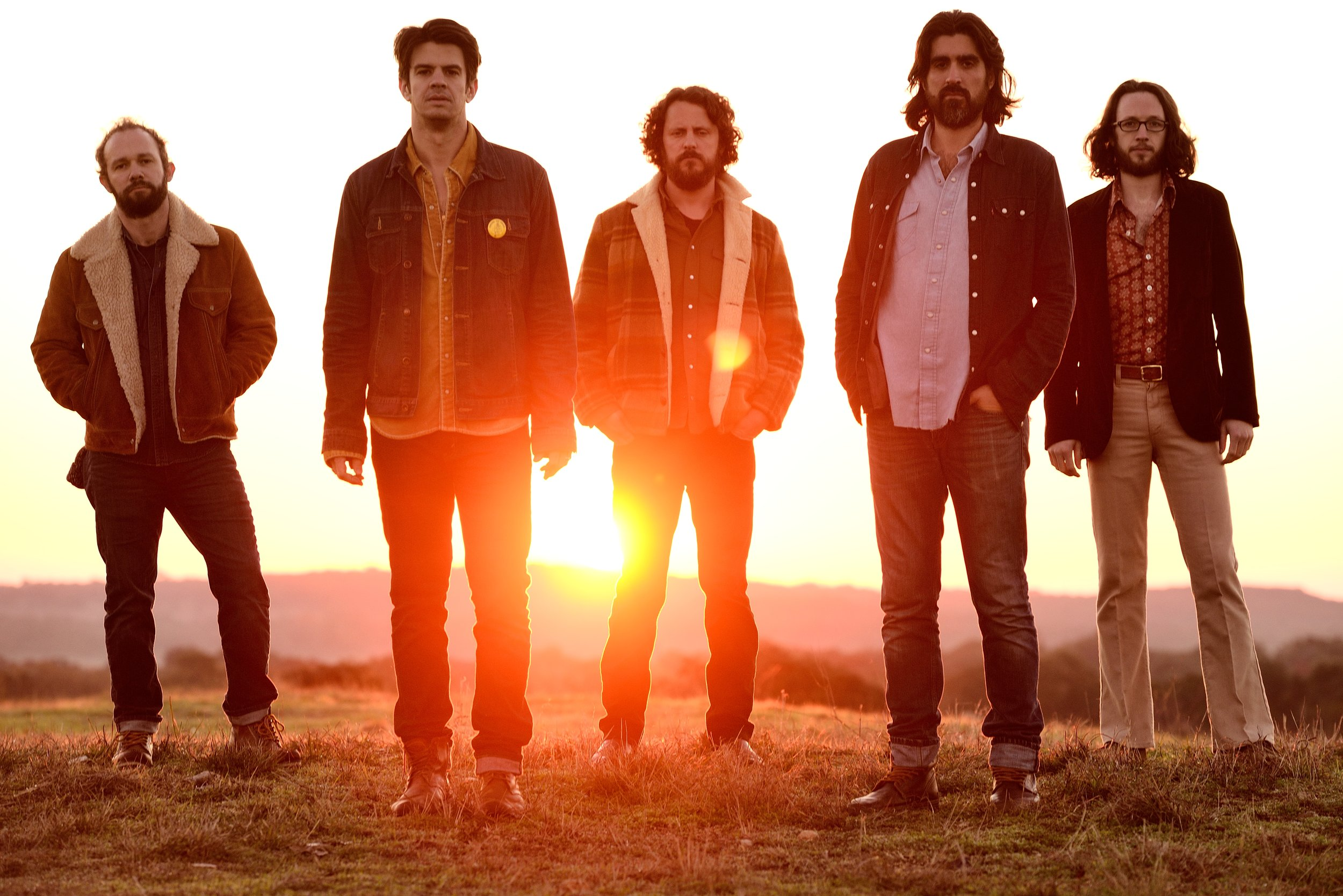 The Band of Heathens perform at 3TEN at ACL Live studio on October 28th, 7PM.