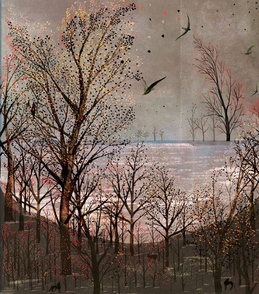 Autumnal Scene  Sarah Jacoby '14
