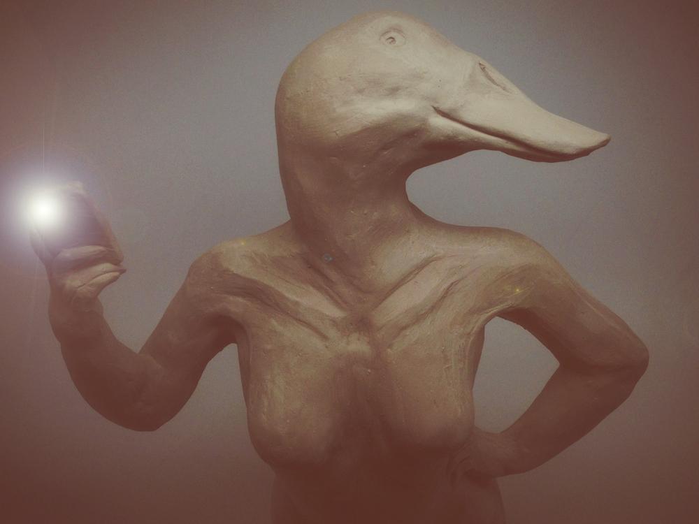 Duckface Selfie  Megan Jones '15