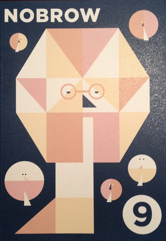 Nobrow 9  Cover by Ben Newman