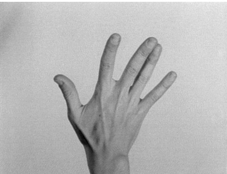 Yvonne Rainer, Hand Movie (1966)