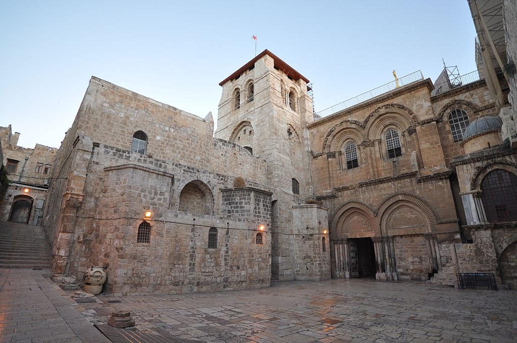 The Church of the Holy Sepulchre   https://www.flickr.com/photos/jlascar/  -  https://www.flickr.com/photos/jlascar/10350972756/in/set-72157636698118263/