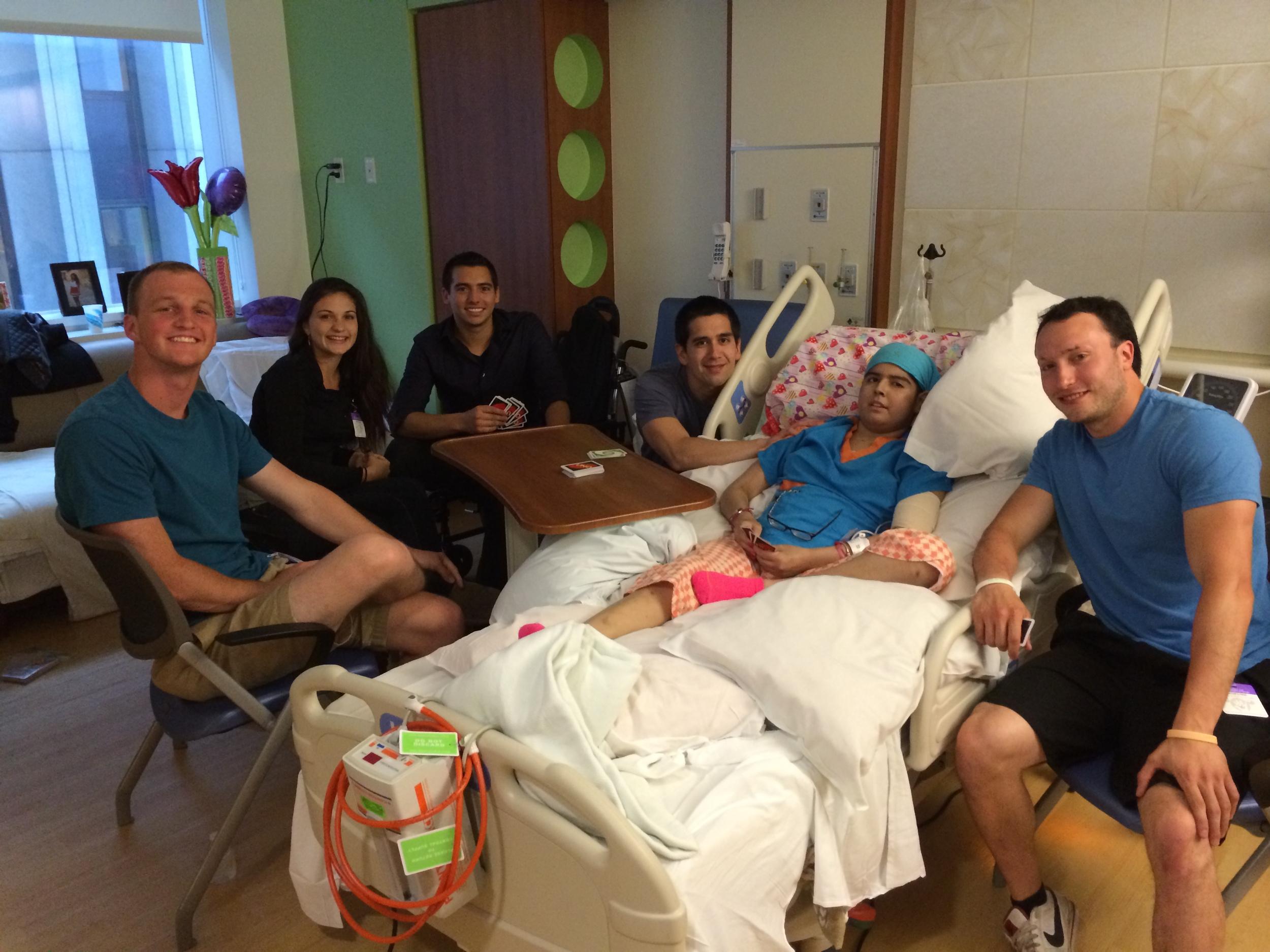 Friends visit Alyssa June 2014.JPG