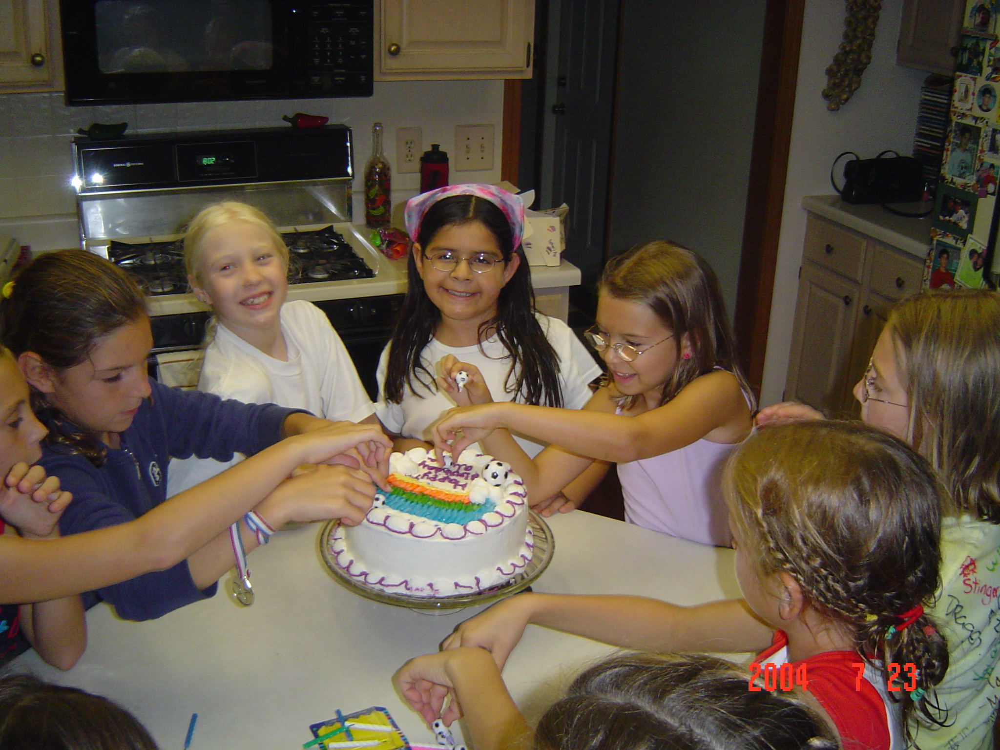Alyssa's 9th B-Day.JPG