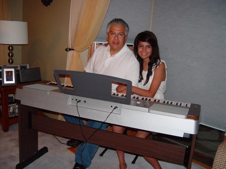 Alyssa & her dad, George